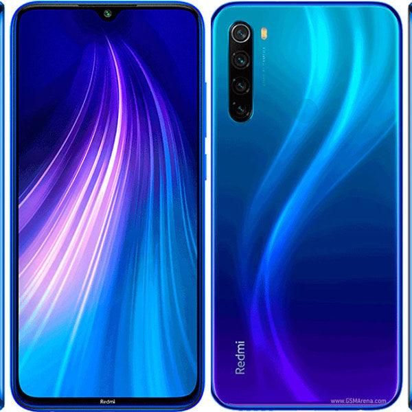 Xiaomi Redmi Note 8T (128GB, Dual Sim, Blue, Special Import)-Smartphones (New)-Connected Devices