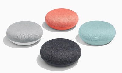 Google Home Mini (Coral, Special Import)-Connected Home - Speakers-Connected Devices