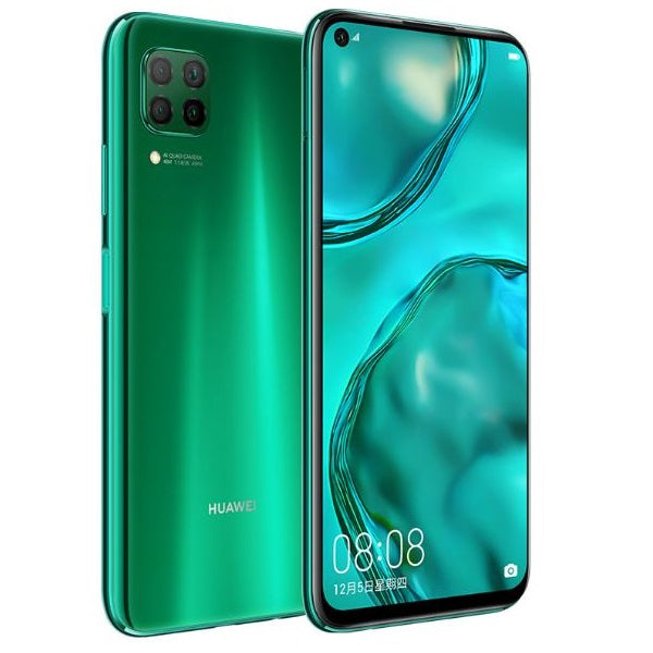 Huawei P40 Lite (128GB, Dual Sim, Emerald Green, Special Import)-Smartphones (New)-Connected Devices