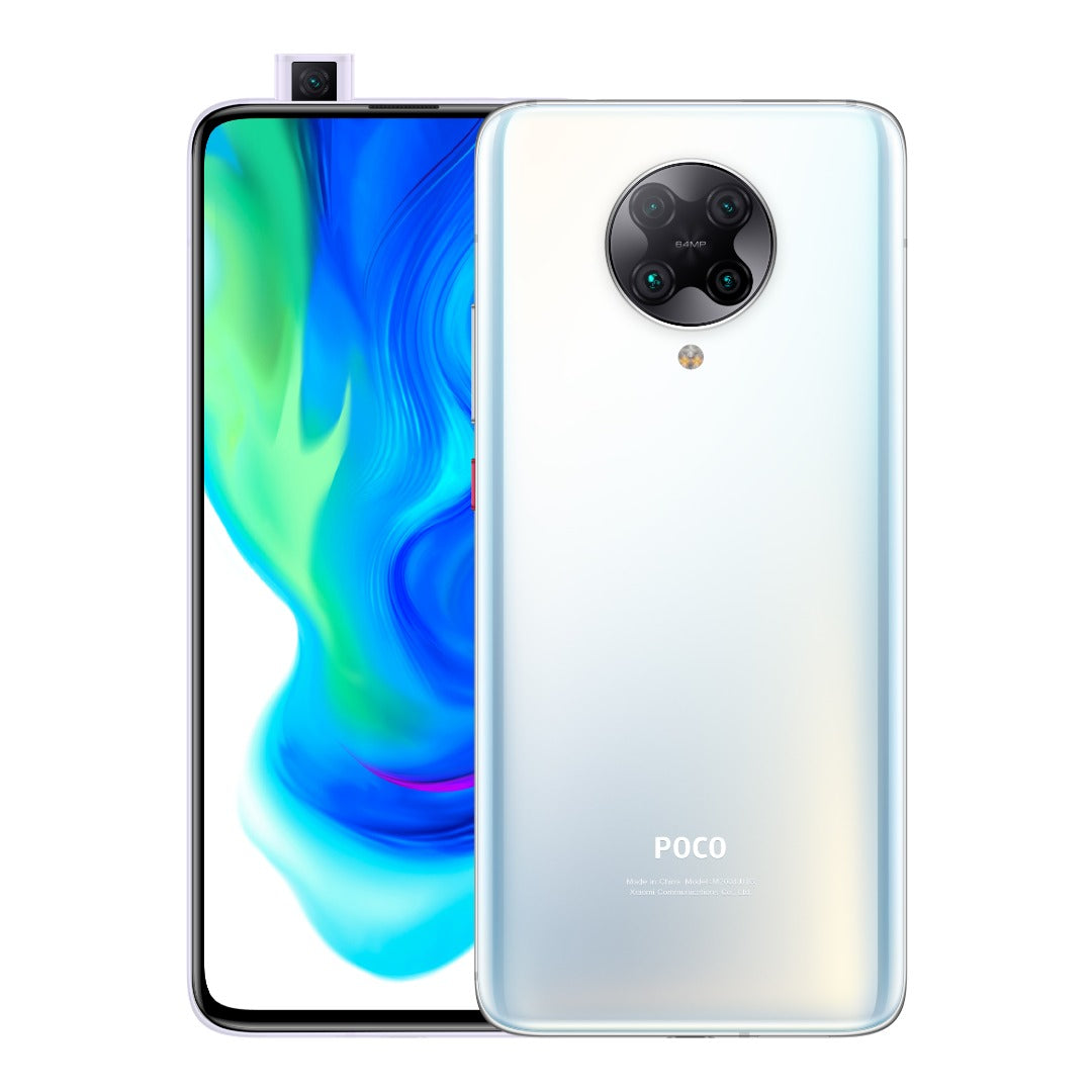 Xiaomi Poco F2 Pro 5G (128GB, Dual Sim, Phantom White, Special Import)-Smartphones (New)-Connected Devices