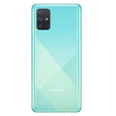 Samsung Galaxy A71 (128GB, 6GB RAM, Dual Sim, Blue, Special Import)-Smartphones (New)-Connected Devices