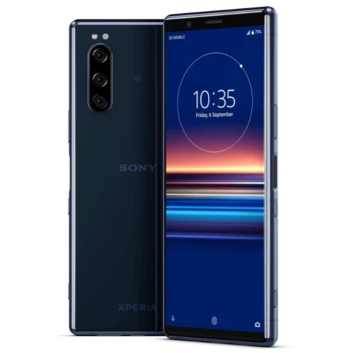 Sony Xperia 5 (128GB, Blue, Special Import)