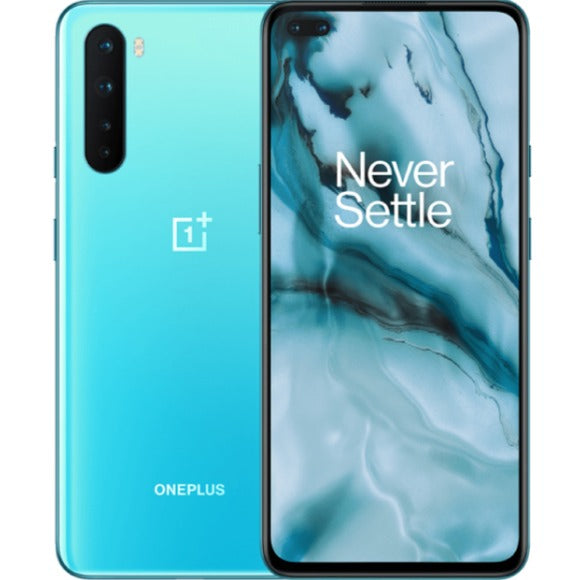 OnePlus Nord 5G (256GB, 12GB RAM, Dual Sim, Blue, Special Import)-Smartphones (New)-Connected Devices