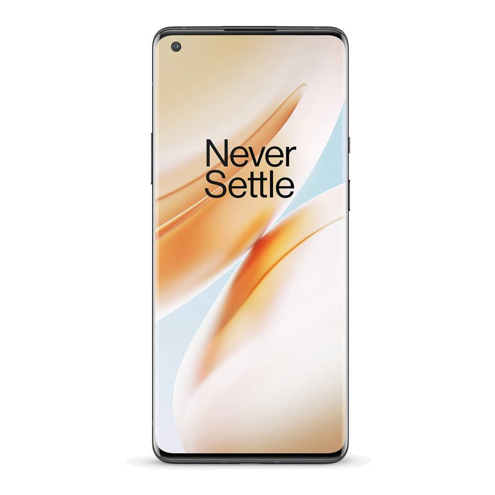 Oneplus 8 5G (128GB, 8GB Ram, Dual Sim, Black, Special Import)-Smartphones (New)-Connected Devices