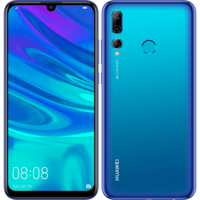 Huawei P Smart Plus (2019, 64GB, Dual Sim, Blue, Special Import)-Smartphones (New)-Connected Devices