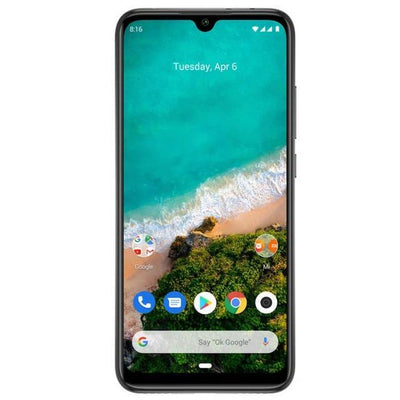 Xiaomi Mi A3 (64GB, Dual Sim, White, Special Import)-Smartphones (New)-Connected Devices