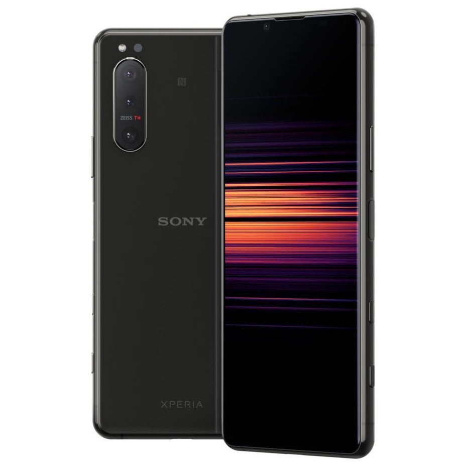 Sony Xperia 5 II 5G (256GB, Dual Sim, Black, Special Import)-Smartphones (New)-Connected Devices