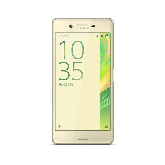 Sony Xperia X Performance (64GB, Lime Gold, dual sim, Special Import)-Smartphones (New)-Connected Devices
