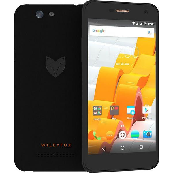Wileyfox Spark Plus (16gb, Dual Sim, Black, Local stock)-Smartphones (New)-Connected Devices