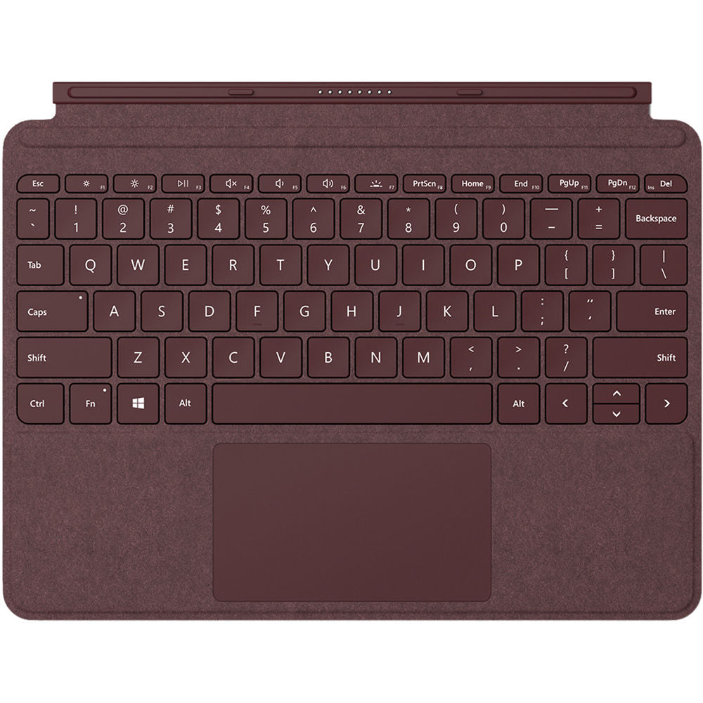 Microsoft Surface GO/ GO 2 Signature Type Cover (Burgundy, Special Import)-Tablet Accessories-Connected Devices