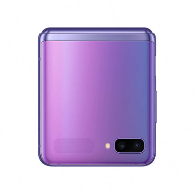 Samsung Galaxy Z Flip (256GB, LTE, Dual Sim, Purple, Special Import)-Smartphones (New)-Connected Devices