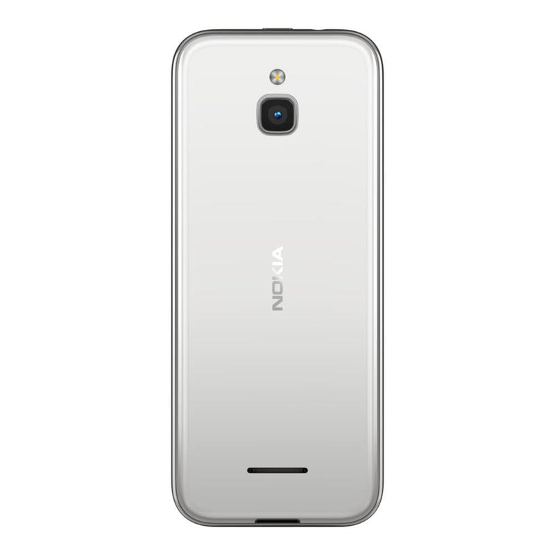 Nokia 8000 4G (4GB, 512MB, Single Sim, White, Special Import)