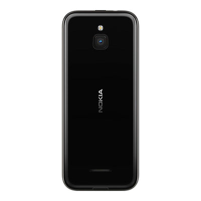 Nokia 8000 4G (4GB, 512MB, Single Sim, Black, Special Import)-Smartphones (New)-Connected Devices