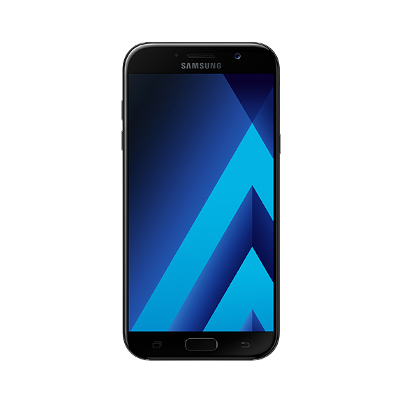 Samsung Galaxy A7 2017 (32GB, Black Sky, Special Import)
