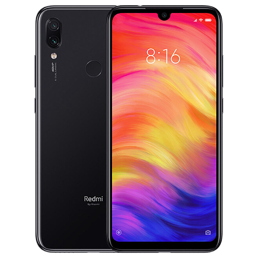 Xiaomi Redmi Note 7 (64GB, Dual Sim, Black, Special Import)