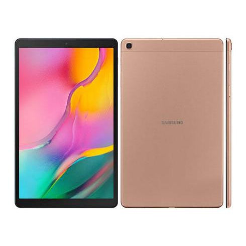 Samsung Galaxy Tab A 10.1 (Pre-Owned, 2019, 32GB, WiFi, Gold, Special Import)-Tablets (Open Box)-Connected Devices
