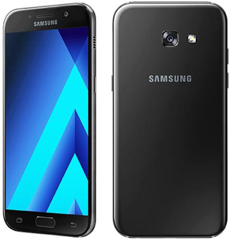 Samsung Galaxy A5 (2017, Black Sky, Local Stock)-Smartphones (New)-Connected Devices
