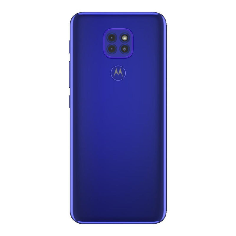 Motorola Moto G9 Play (64GB, Dual Sim, Blue, Special Import)-Smartphones (New)-Connected Devices