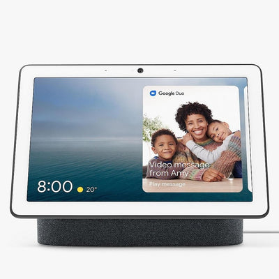 Google Nest Hub Max (Charcoal, Special Import)-Connected Home - Speakers-Connected Devices