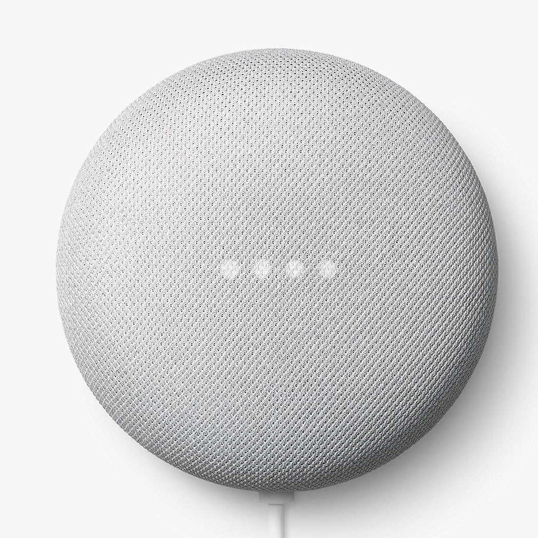 Google Nest Mini 2nd Generation (Chalk, Special Import)-Connected Home - Speakers-Connected Devices