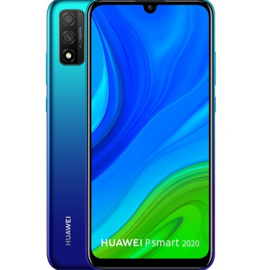 Huawei P Smart 2020 (128GB, 4GB RAM, Dual Sim, Bue, Special Import)-Smartphones (New)-Connected Devices