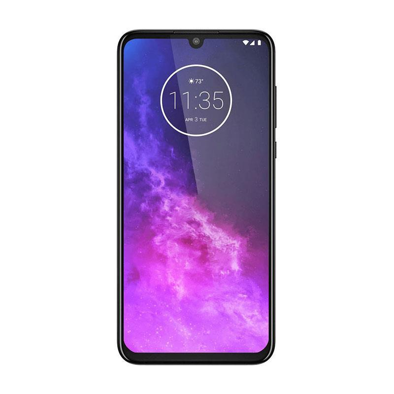 Motorola One Zoom (128GB, Dual Sim, Grey, Special Import)-Smartphones (New)-Connected Devices