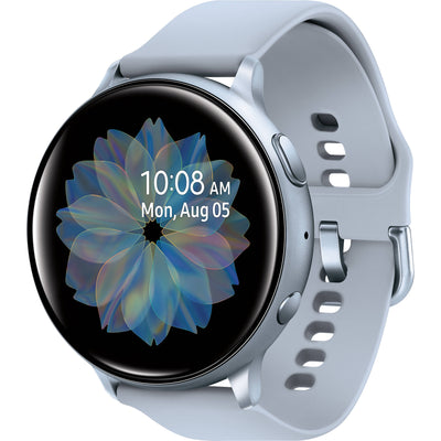 Samsung Galaxy Watch Active2 (WiFi, 4GB, 40mm, Silver, Special Import)