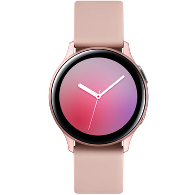 Samsung Galaxy Watch Active2 (Bluetooth, 40mm, Aluminum, Rose Gold, Special Import)-Wearables (New)-Connected Devices