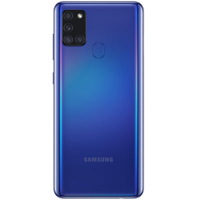 Samsung Galaxy A21s (32GB, Dual Sim, Blue, Special Import)-Smartphones (New)-Connected Devices