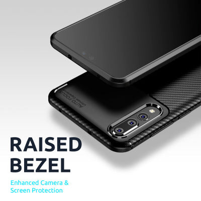Olixar Carbon Fibre OnePlus 8 Pro Case - Black (Black, Special Import)-Accessories - Smartphones - Cases-Connected Devices