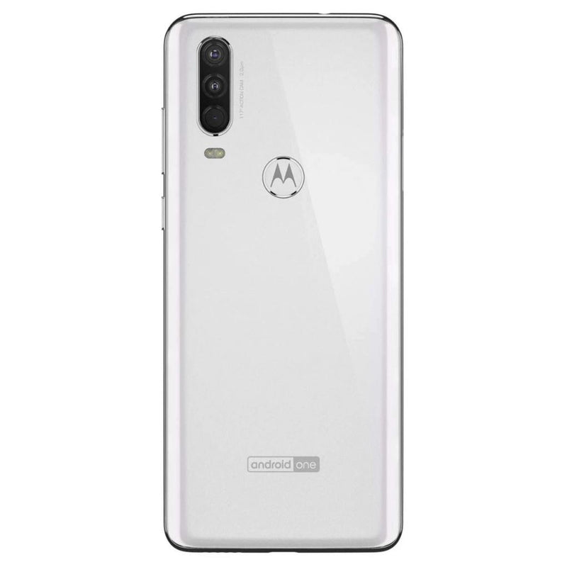 Motorola One Action (128GB, Dual Sim, White, Special Import)