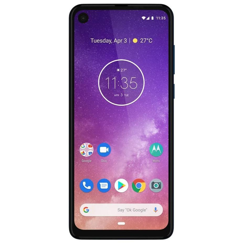 Motorola One Vision (128GB, Dual Sim, Blue, Special Import)