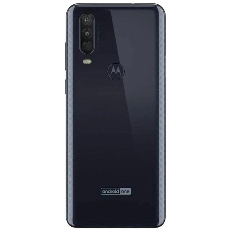Motorola One Action (128GB, Dual Sim, Blue, Special Import)-Smartphones (New)-Connected Devices