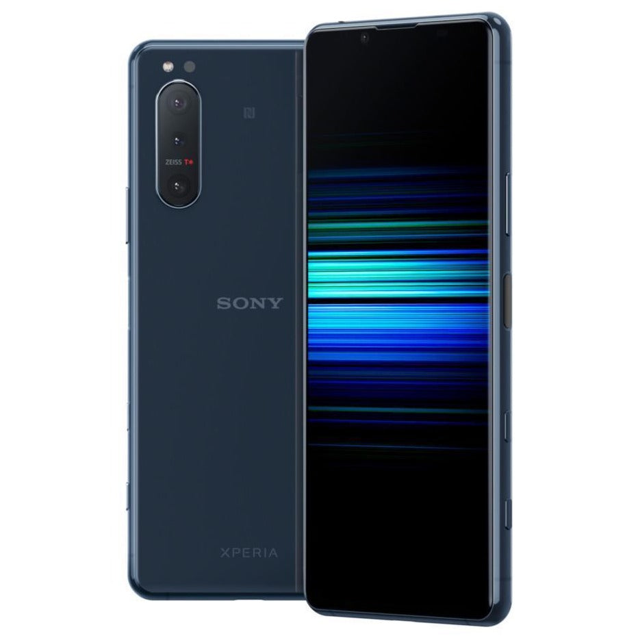 Sony Xperia 5 II 5G (256GB, Dual Sim, Blue, Special Import)-Smartphones (New)-Connected Devices
