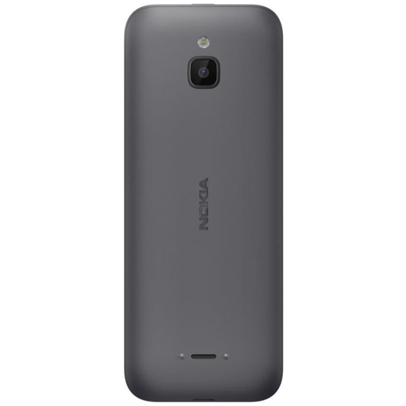 Nokia 6300 4G (4GB, Single Sim, Charcoal, Special Import)