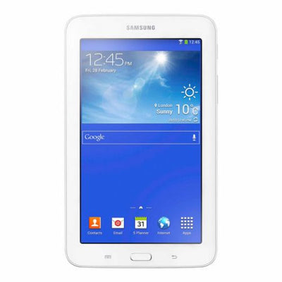 Samsung Galaxy Tab 3 Lite (8GB, Wi-Fi + 3g, White, Local Stock)