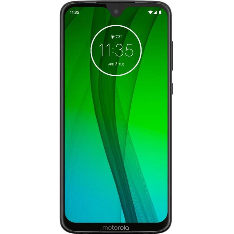Motorola Moto G7 (64GB, Dual Sim, Black, Special Import)-Smartphones (New)-Connected Devices