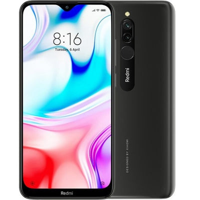 Xiaomi Redmi 8 (32GB, Dual Sim, Black, Special Import)-Smartphones (New)-Connected Devices