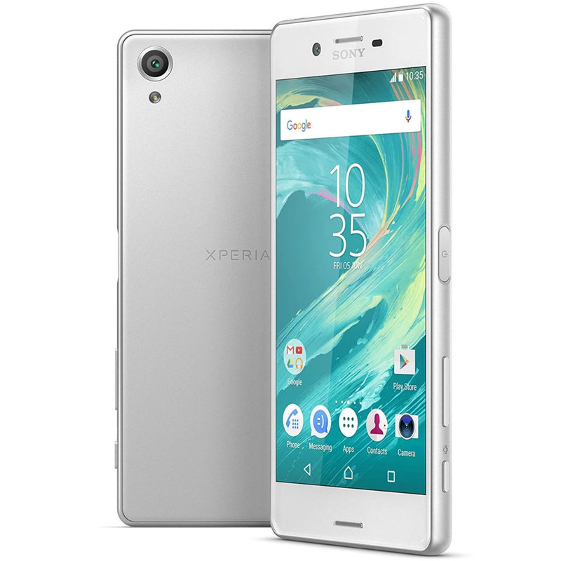 Sony Xperia X (64GB, White, Dual Sim, Special Import)-Smartphones (New)-Connected Devices
