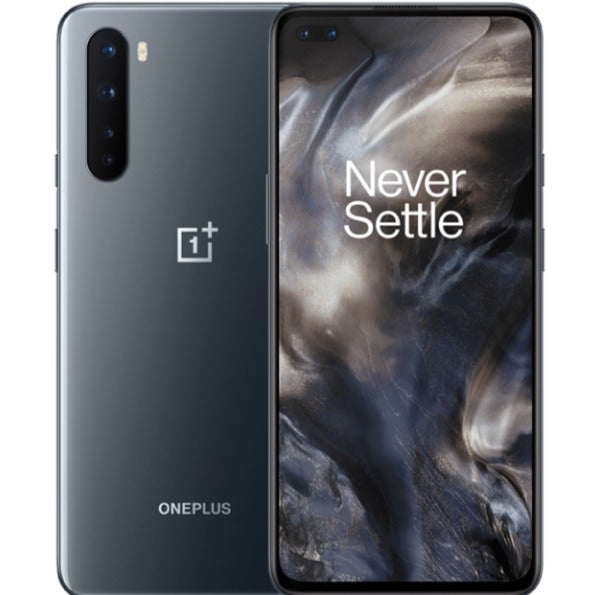 OnePlus Nord 5G (256GB, 12GB RAM, Dual Sim, Grey, Special Import)-Smartphones (New)-Connected Devices