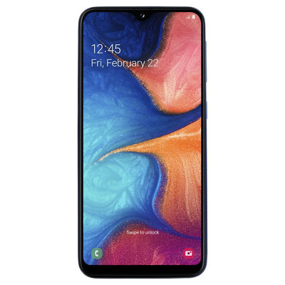 Samsung Galaxy A20e (32GB, Dual Sim, Blue, Special Import)-Smartphones (New)-Connected Devices