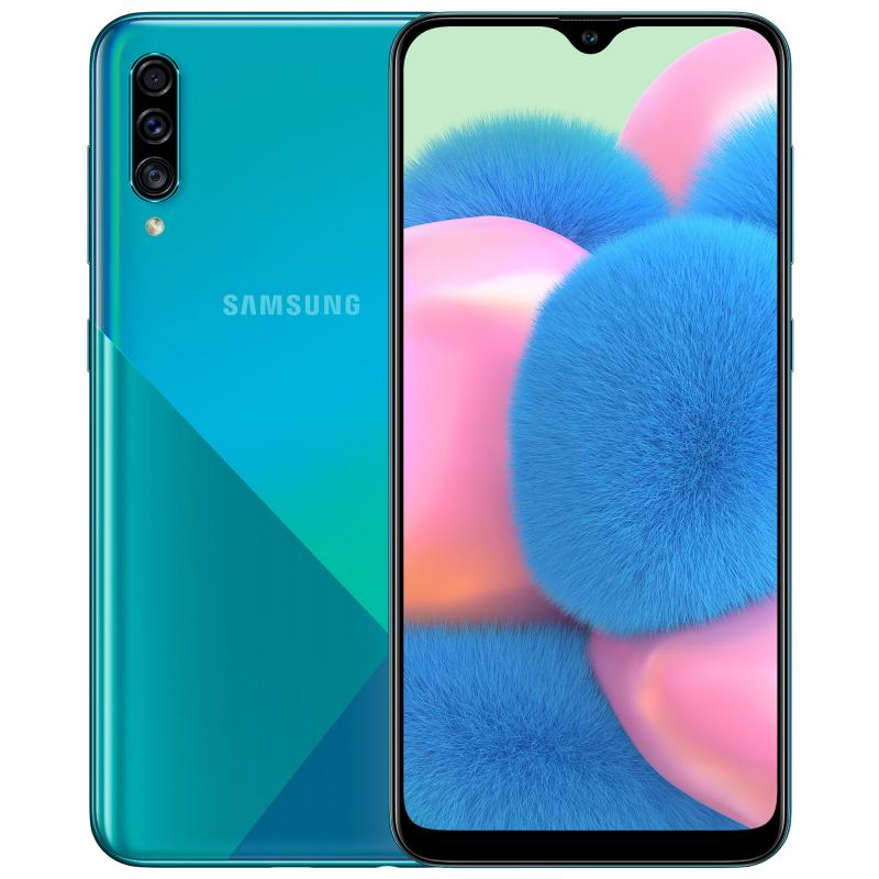 Samsung Galaxy A30s ( 64GB, Dual Sim, Green, Special Import)-Smartphones (New)-Connected Devices