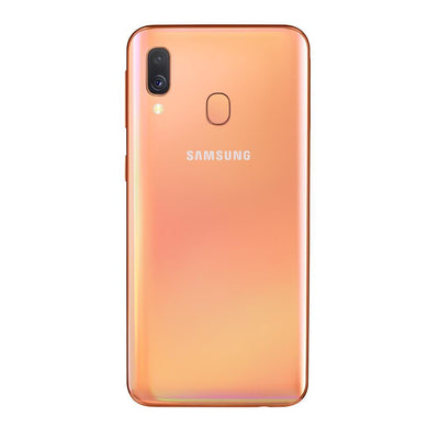 Samsung Galaxy A40 (64GB, 4GB RAM, Dual Sim, Coral, Special Import)-Smartphones (New)-Connected Devices