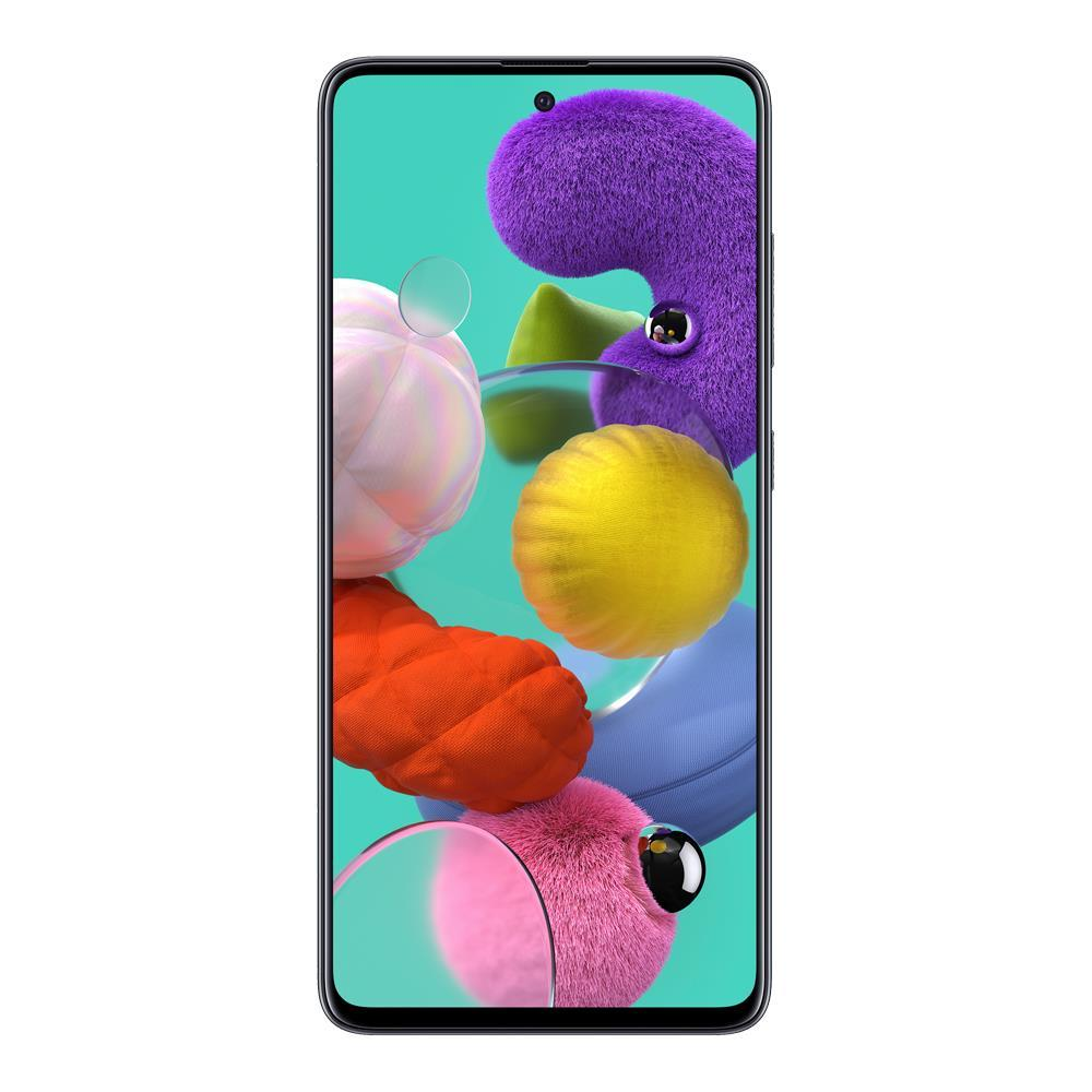 Samsung Galaxy A51 (128GB, Dual Sim, Black, Special Import)-Smartphones (New)-Connected Devices