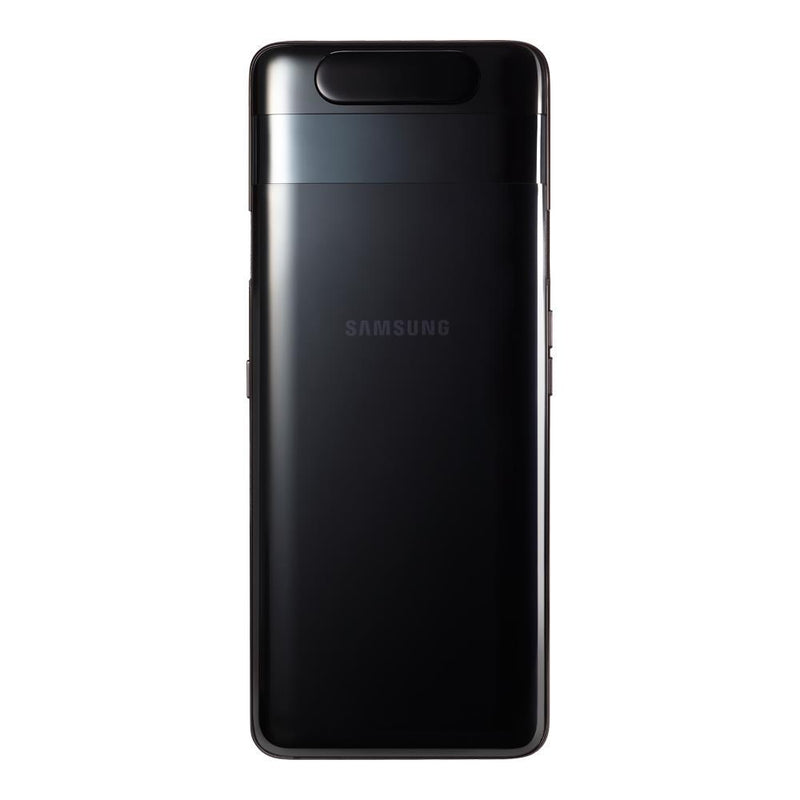 Samsung Galaxy A80 (128GB, 8GB RAM, Single Sim, Black, Local Stock)-Smartphones (New)-Connected Devices