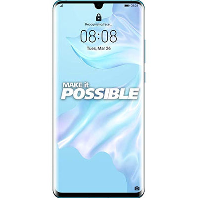 Huawei P30 Pro (128GB, 6GB RAM, Dual Sim, Breathing Crystal, Special Import)-Smartphones (New)-Connected Devices