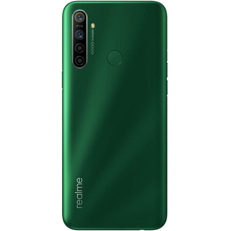 Realme 5i (64GB, Dual Sim, Forest Green, Special Import)-Smartphones (New)-Connected Devices
