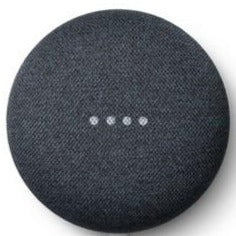 Google Nest Mini 2nd Generation (Charcoal, Special Import)-Connected Home - Speakers-Connected Devices