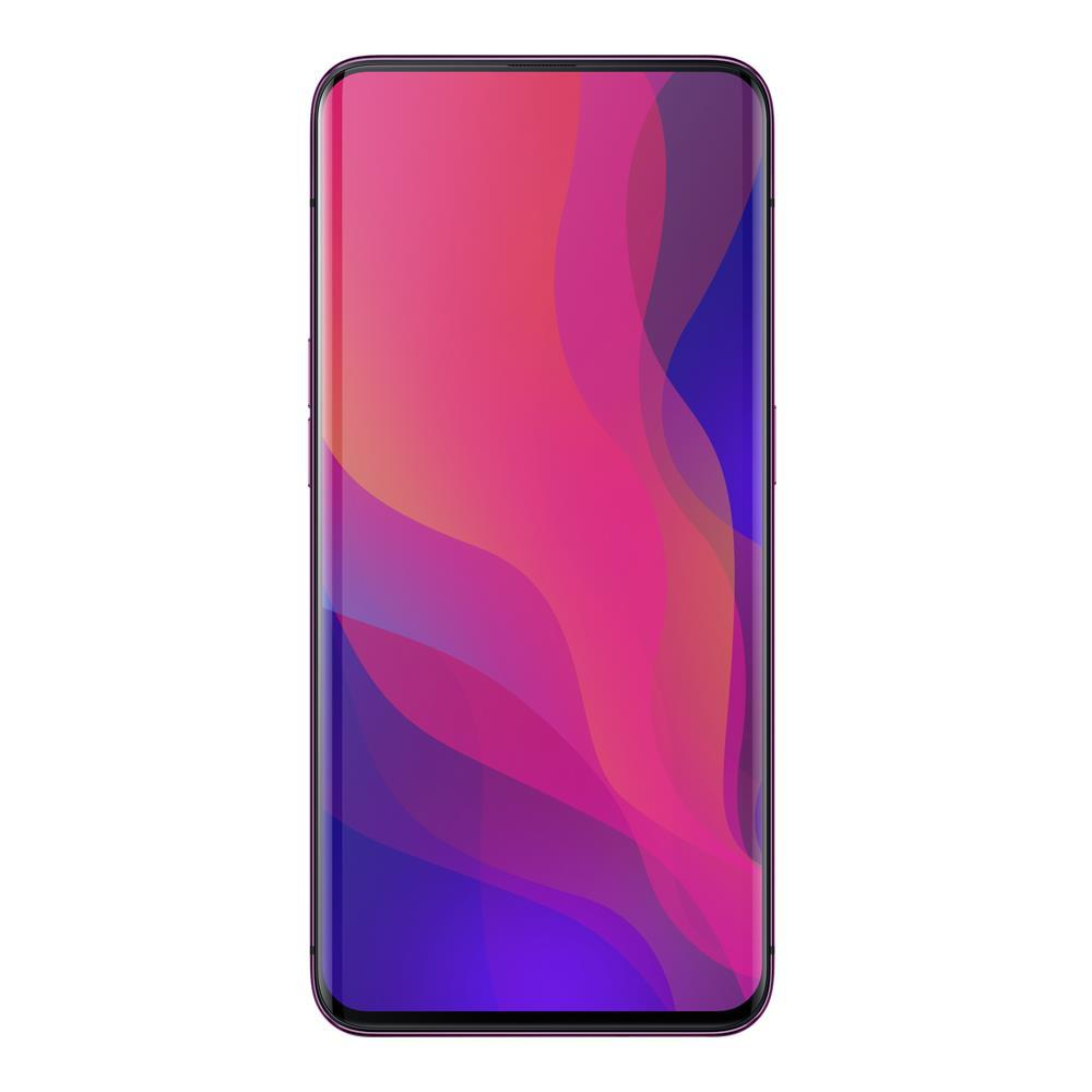 Oppo Find X (256GB, 8GB RAM, Dual Sim, Red, Special Import)