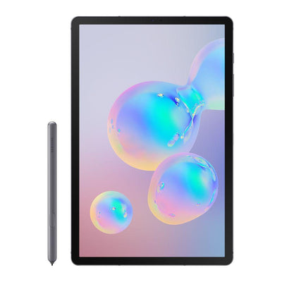 Samsung Galaxy Tab S6 10.5 (128GB, Grey, WiFi, Special Import)-Tablets (New)-Connected Devices